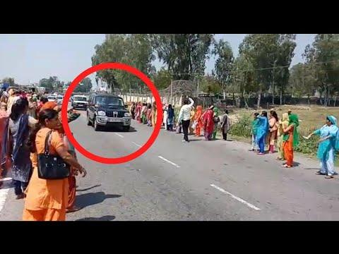 Dr. Jitendra Singh faces protest in Kathua, Aanganwari workers shows black flags | UNT