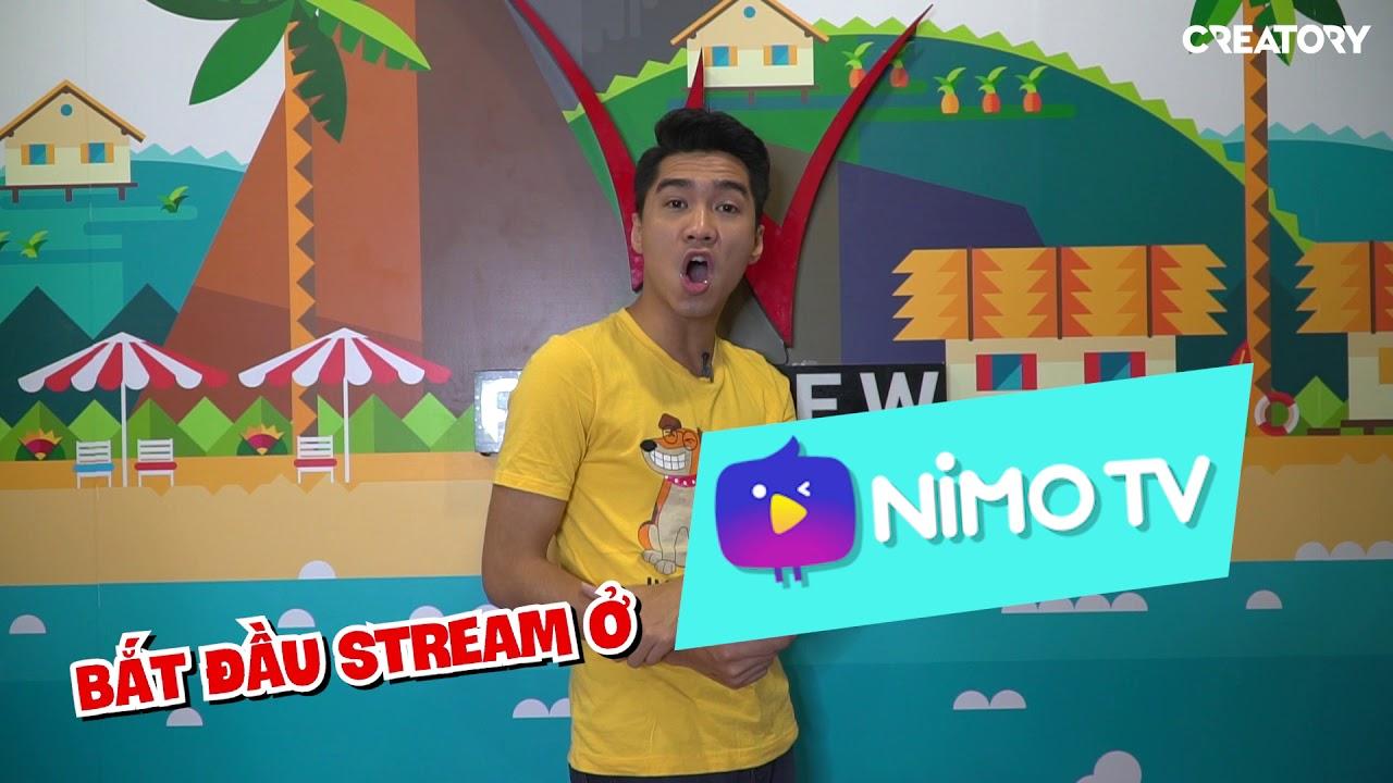 PEWPEW CHUYỂN QUA STREAM CHƠI GAME Ở NIMO TV