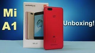 Xiaomi Mi A1 RED Special Edition Unboxing! - [Urdu/Hindi]