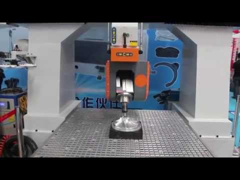 Chinese Hitech Advanced 5 Axis CNC Router, Heavy Duty 5 Axis Metal Mould Engraving CNC Router