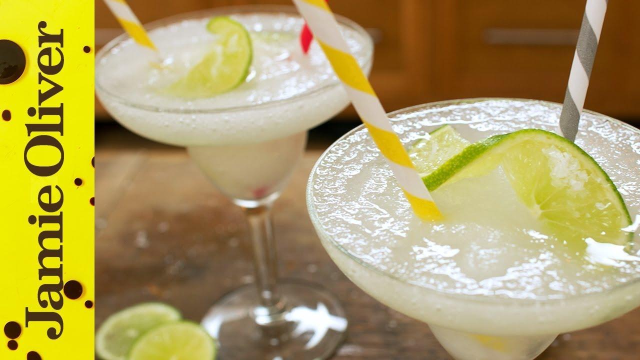 Jamie's Classic Cocktails | Frozen Margarita - YouTube