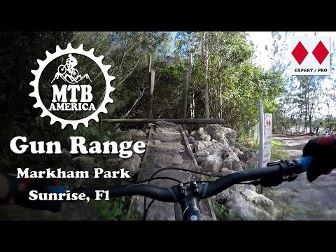 "Gun Range - Markham Mountain Bike Trail ""Complete"" - Mountain Biking in Florida - MTB America"