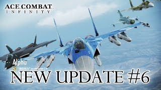 Ace Combat Infinity - PS3 - Update #6 News Dispatch (Trailer)