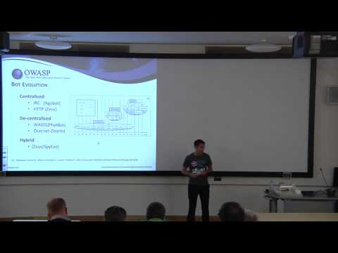 Mark Graham - Cloud-based Detection Techniques for Botnets a