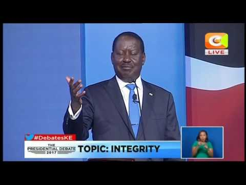 Raila Odinga; I came into politics alone. Not through invitation by my father, but out of conviction