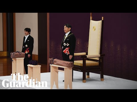 Japan's new emperor Naruhito formally ascends to throne as Reiwa era begins