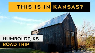 AMAZING tiny cabin iฑ KANSAS // BASE CAMP HUMBOLDT adventure