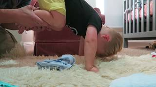 BABY ESCAPES FROM CRIB!