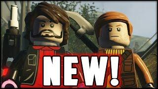LEGO Star Wars The Force Awakens - CUSTOMS WAR! Blitz vs. Gamer!