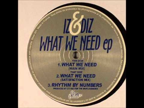 Iz & Diz - What We Need (Main Mix)
