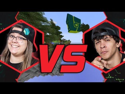 MALENA VS COCIELO   MINECRAFT   BATALHA #26   #MTVLOGBR