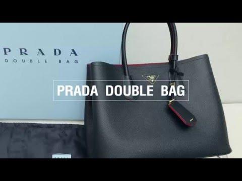 เรดดี้จัดให้ Prada Double Bag - YouTube 98eb81c57bbc3