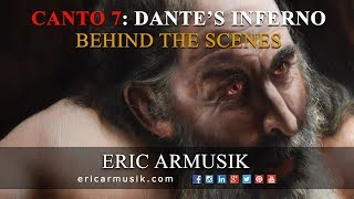Canto 7: Plutus  - Dante's Inferno Paintings by Eric Armusik