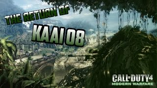 the return of kaai o8   cod4 sniping legend