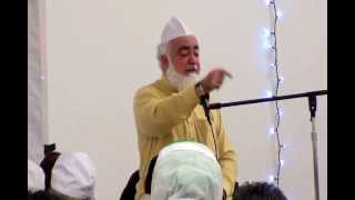 Pir Muhammad Amin ul Hasnat Shah in Connecticut U.S.A