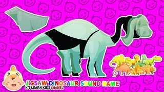 Jigsaw Dinosaur Puzzle | Learn Dinosaur Names With Jigsaw Puzzle Toys for Kids Dinosaur Compilation
