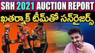 SRH Team IPL Auction Report | Sunrises Hyderabad | IPL Analysis | Eagle Media Works