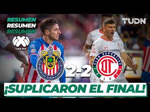 Resumen y Goles | Chivas 2 - 2 Toluca | Liga Mx - CL 2020 J-3