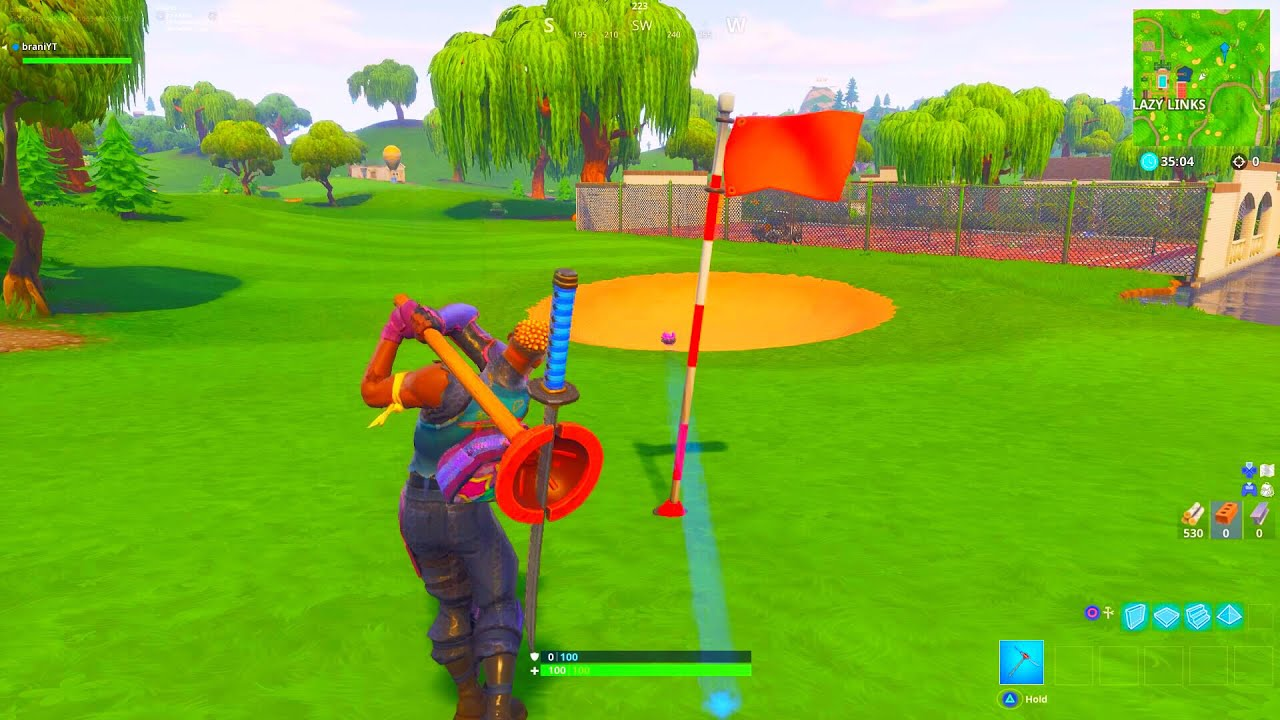 From Tee To Green Golf Fortnite