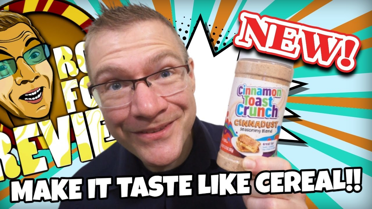 NEW! CINNAMON TOAST CRUNCH CINNADUST SEASONING BLEND!! TASTE AND REVIEW!!
