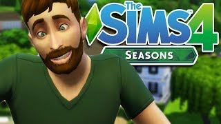 MOVING OUT OF MY MOMS BASEMENT! | The Sims 4 with SEASONS EXPANSION Gameplay/Let