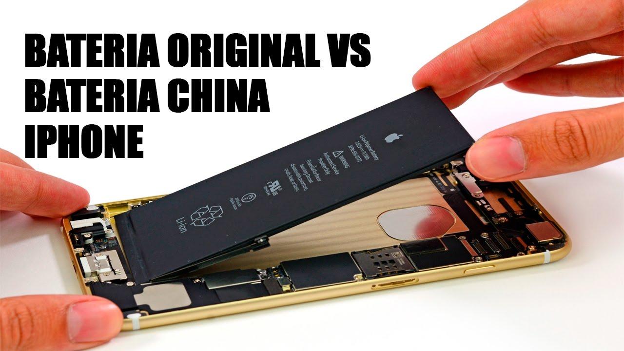 a5f33dc3955 como reconocer una batería original de iphone - YouTube