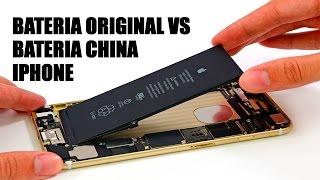 como reconocer una batería original de iphone