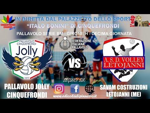Pallavolo Serie BM: Pallavolo Jolly Cinquefrondi VS Savam Costruzioni Letojanni