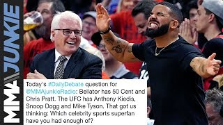 Daily Debate: Which celebrity sports superfan have you had enough of?