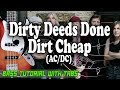 AC/DC - Dirty Deeds Done Dirt Cheap - BASS Tutorial [With Tabs] - Play Along