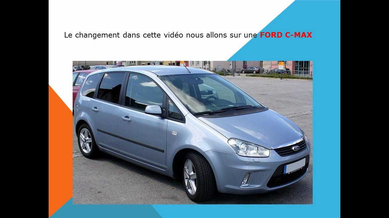 comment changer le filtre d 39 habitacle filtre anti pollen du ford c max youtube