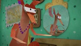 Бумажки - Когда не хватает лап. Новая серия 66. Мультик оригами для детей. Творчество с детьми.
