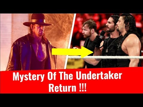 Mystery Of The Undertaker's Return Why Kane Returned And Attacked Roman Reigns WWE TLC Undertaker