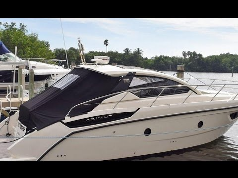 2014 Azimut 38 Boat For Sale at MarineMax Miami