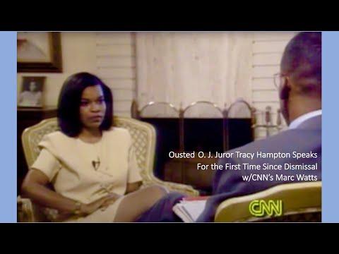 O.J. Simpson Juror Tracy Hampton Interview