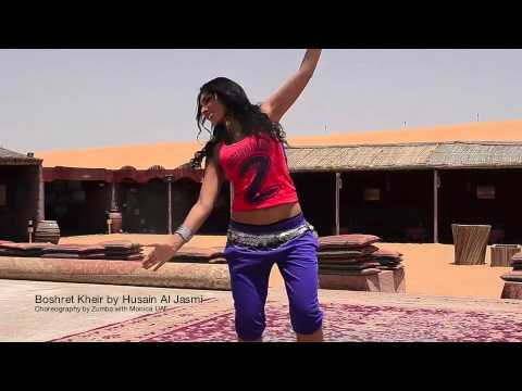 Hussein El Jasmy by Boshret Kheirchoreography by zumba with Monica UAE