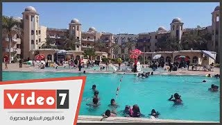 إقبال كبير على القرى السياحية فى بورسعيد رغم ارتفاع أسعار الشاليهات