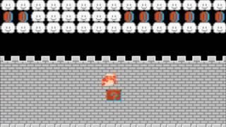 Classic NES Series - Super Mario Bros (GBA): Glitch level 56