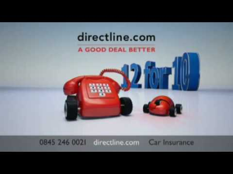 Direct Line Car Insurance - New TV Ad with Stephen Fry and Paul Merton