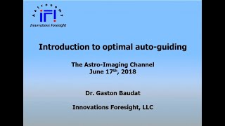 Introduction to optimal auto - guiding:  How to get the most from your set - up