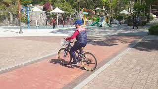 [송가네운동부]자전거를 타자