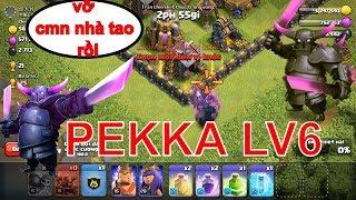 NMT | Clash of clans | Troll đánh chay PEKKA 6 siêu thốn