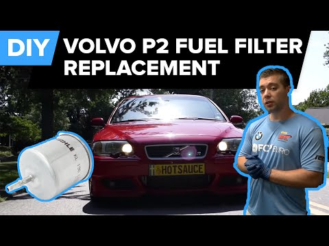 Volvo P2 – Fuel Filter Replacement – Improve MPG – EASY DIY (S40, S60, S80, V70, XC70, XC90)