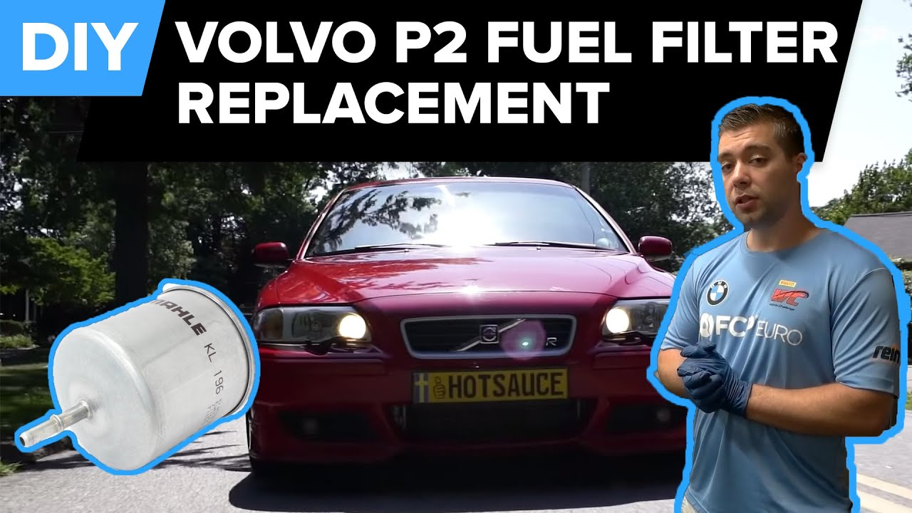 volvo fuel filter replacement improve mpg s40 s60 s80 v70 xc70  [ 1280 x 720 Pixel ]