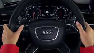 Audi MMI Vehicle Controls and Settings tutorial (Navigation plus with MMI Touch)