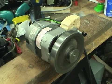 Treadmill motor setup and ac vs dc motor operation youtube for Ac vs dc motor