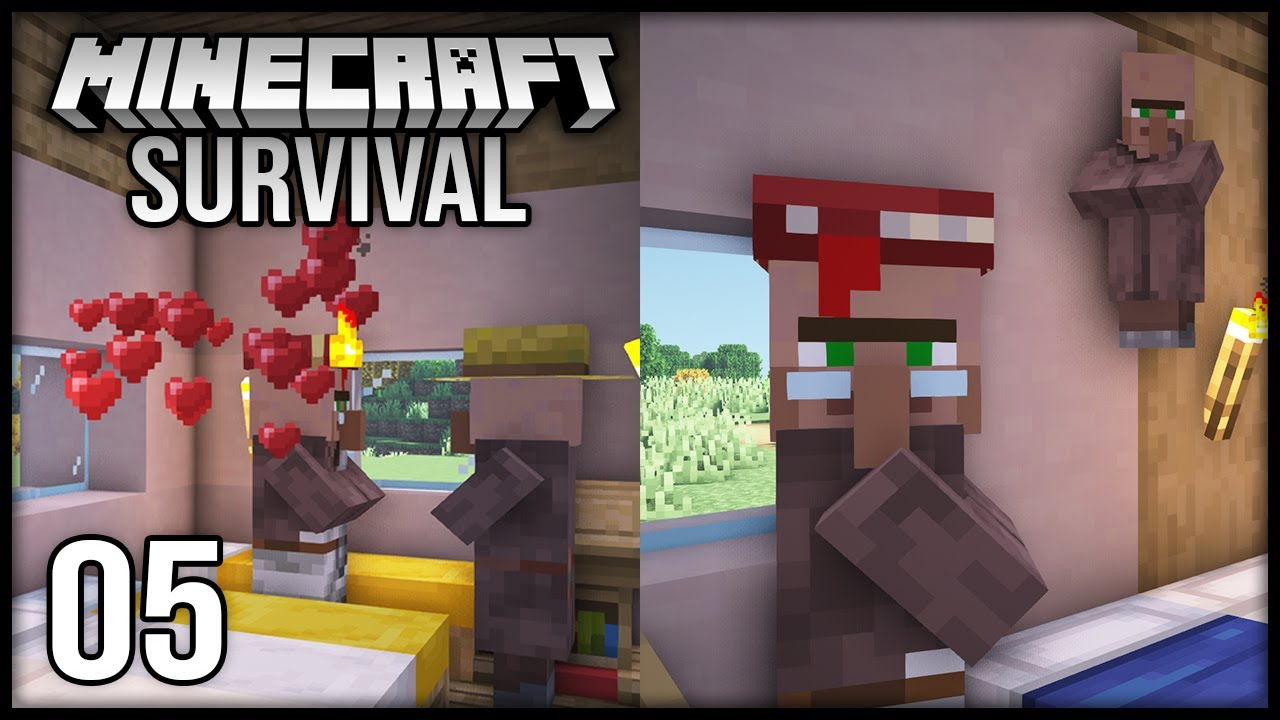 Minecraft 1.17 Survival Let's Play - Episode 5 - GETTING MENDING!!!