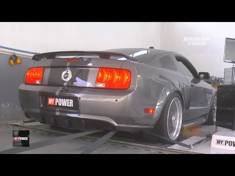 Ford Mustang GT500 600 HP | 🎧 Dyno Insane Sound Run by MY POWER !!