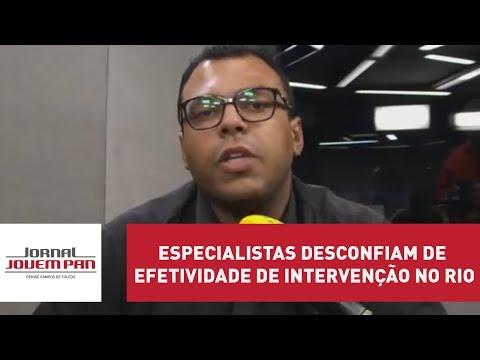Especialistas desconfiam de efetividade de intervenção no Rio | Jornal Jovem Pan