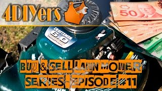 How Much Money Did I Make? Buy & Sell Lawn Mowers